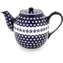 Large tea or coffee pot 1.5 l with a long spout and...