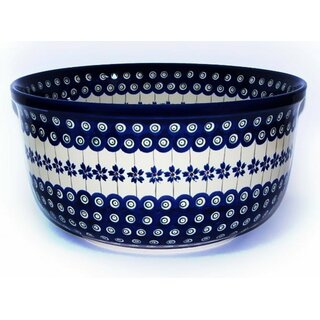 Beautiful Big salad bowl which also is inside decorated. Decor 166a