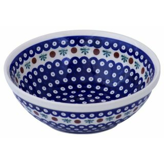Small 1.5 liters salad bowl with interior decor 41.