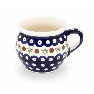 Large sphere mug with a Capacity of 0.42 liters, what is also called Bohemian cup, in the Decor 41