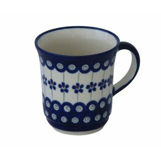 Curved formed mug, with a Capacity of 0.35 liters, in the Decor 166a