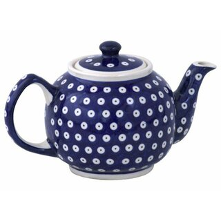 Traditional 1.0 liters teapot with a long spout and with warmer. Decor 42