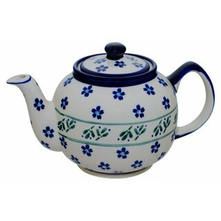 Tea or coffee pot 1.0 l with a long spout in the Decor 163a