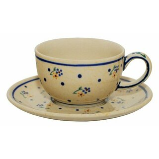 Coffee or tee cup with saucer in the Decor 111