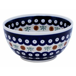 Small round bowl also painted with interior decor 41