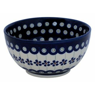 Small round bowl also painted with interior decor 166a