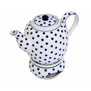 Tea or coffee pot 1.5 l with warmer and a elongated spout in the Decor 37
