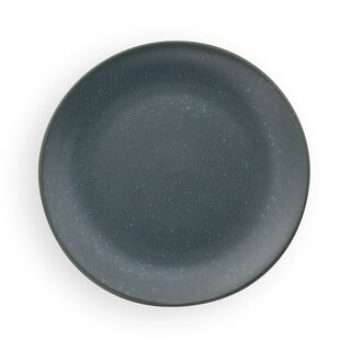 Flat Breakfast plate in the Decor Zielon