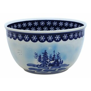 Big salad bowl which also is inside decorated. Decor DU11