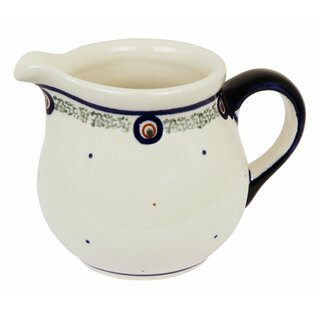 Small traditional German cream jug 0.18 liters. Decor 114