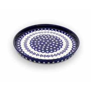 Flat plate (dinner plate) in decor 166a