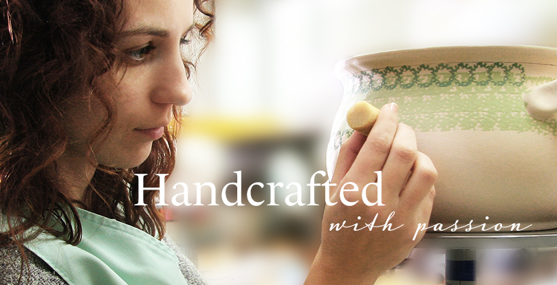 Handcrafted with passion